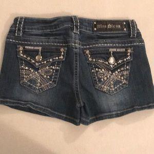 ❤️SALE❤️ Miss Chic Jean Shorts Size Medium